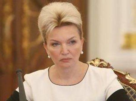 Голова РНБО Раїса Богатирьова
