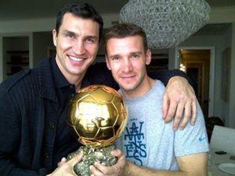 Два великих спортсмени України