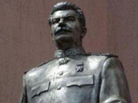 Бюст Сталина в Запорожье