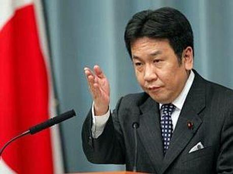 Генеральний секретар японського уряду Юкіо Едано