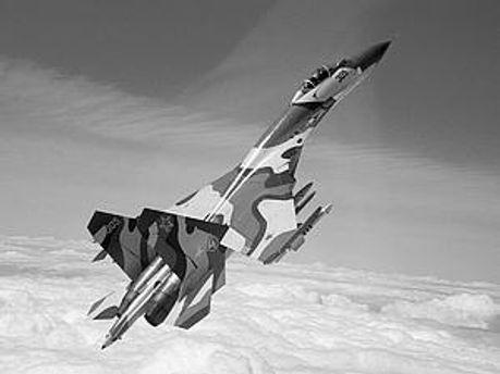 Су-27 разбился под Владивостоком