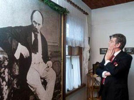 Ющенко хоче показати невідомого нам Шевченка