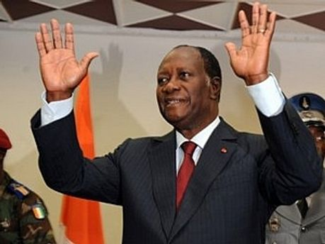 Признанный Президент Кот-д'Ивуара Алассане Уаттара