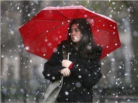 Завтра очікують дощ з мокрим снігом