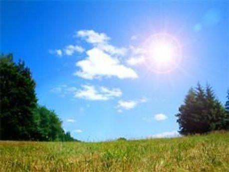 С середины апреля будет тепло
