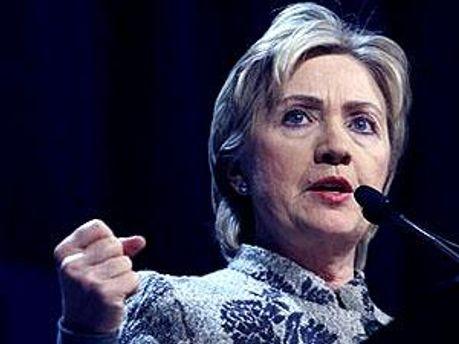 Держсекретар США Хіларі Клінтон