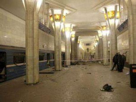 Станция метро в Минске