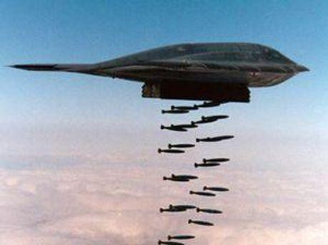 США бомбят Ливию