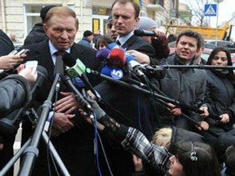 Второй президент Украины 1994-2005 годов - Леонид Кучма
