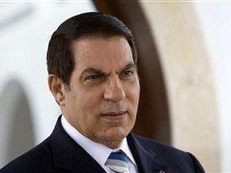 Екс-президент Тунісу Зіна аль-Абідін Бен Алі