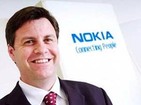 Управляющий директор австралийского подразделения Nokia Крис Карр