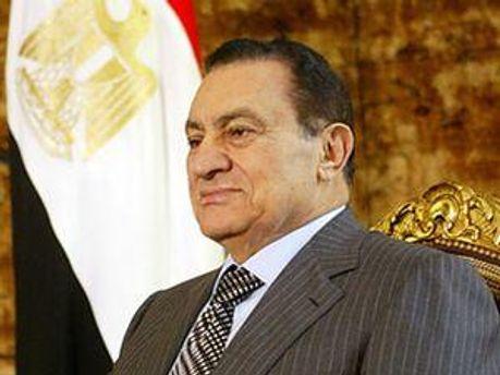 Экс-президент Египта Хосни Мубарак