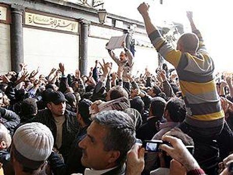 В Сирии продолжаются акции протестов