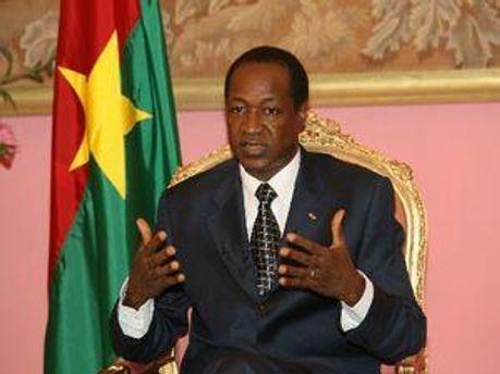 Президент Буркіна-Фасо Блез Компаоре