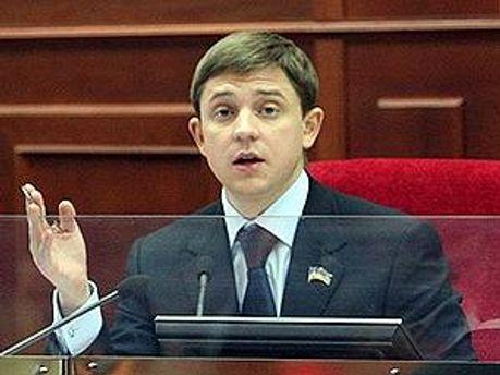 Секретарь Киевсовета Олесь Довгий
