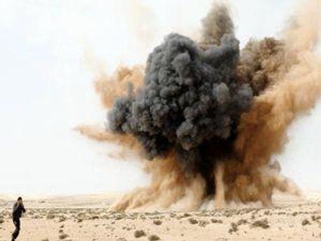 Бомбардировка Ливии
