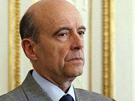 Министр иностранных дел Франції Ален Жюппе