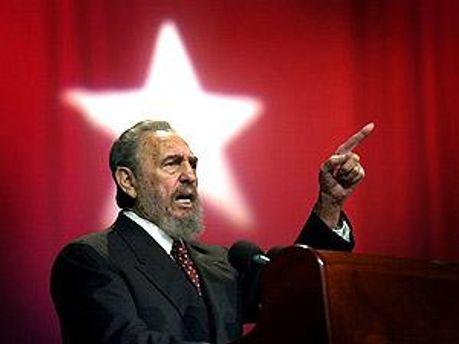 Фиделя Кастро приветствовали бурными аплодисментами