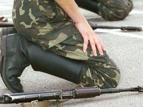 украинский миротворец погиб