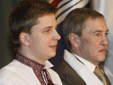 Олесь Довгий и Леонид Черновецкий
