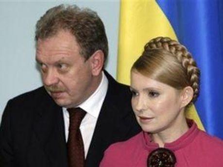 Олег Дубина и Юлия Тимошенко