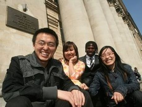 Китайские студенты в Украине