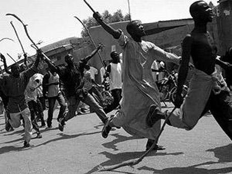 Беспорядки начались после объявления результатов выборов