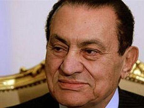 Свергнутый лидер Египта Хосни Мубарак