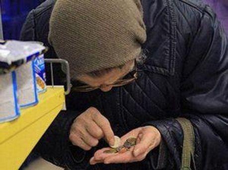 Украинцы еще не в нищете