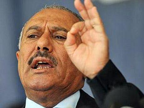 Президент Йемена Али Абдалла Салех