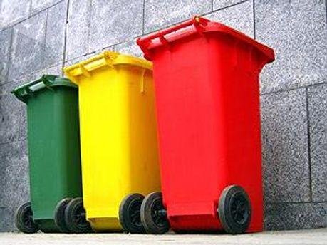 В Киеве стимулируют раздельный сбор мусора