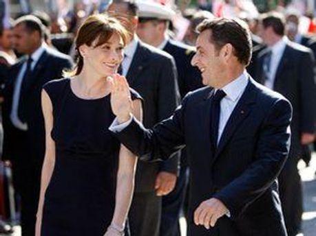Супруги Саркози