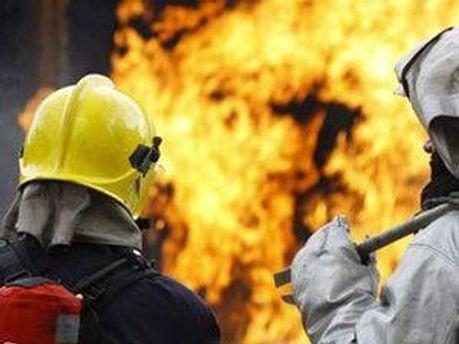 От пожара пострадали люди
