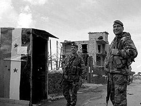 В Сирии власть применяет военную технику
