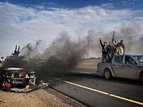 В Каддафи есть разные наемники