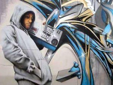 Стіна з графіті