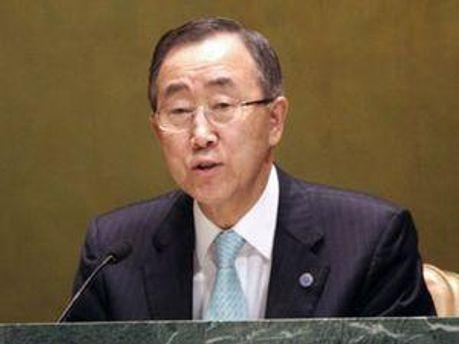 Генеральний секретар ООН Пан Гі Мун