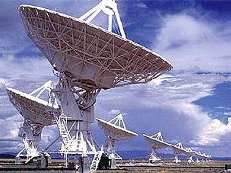 Робота радіотелескопів припинилась