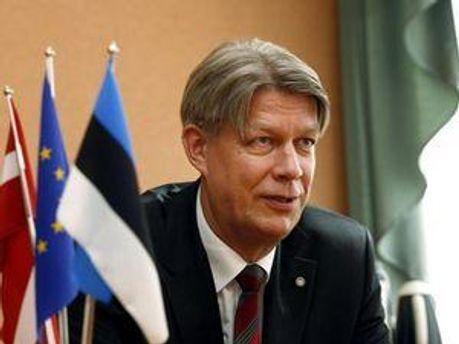Президент Латвії Валдіс Затлерс