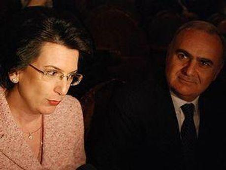 Ніно Бурджанадзе та Бадрі Біцадзе