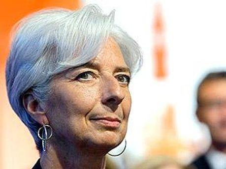 Міністр фінансів Франції Крістін Лагард
