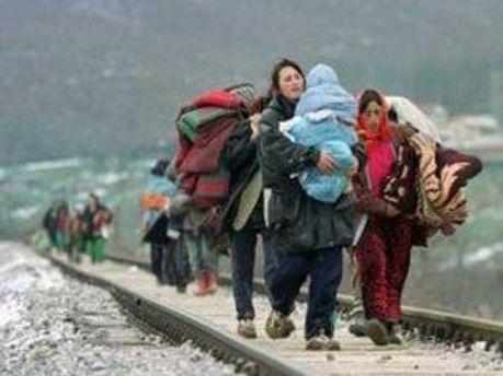 За последние дни количество беженцев возросло