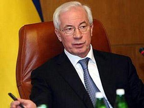 Прем'єр-міністр України Микола Азаров