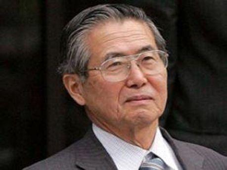 Колишній президент Перу Альберто Фухіморі
