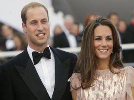 Принц Уильям и его жена Кейт Миддлтон