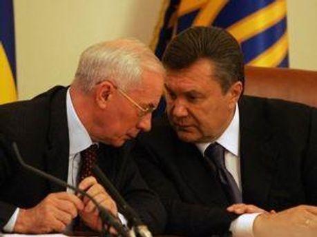 Микола Азаров та Віктор Янукович