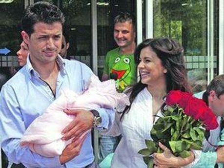 Ані Лорак, чоловік і донька