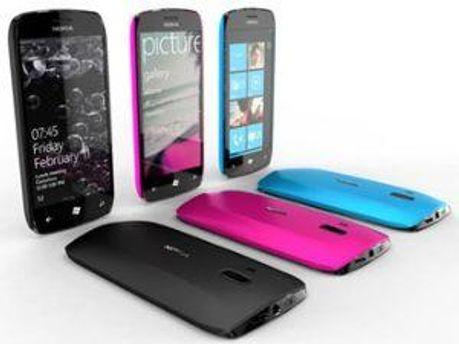 Прототип смартфона Nokia на Windows Phone 7