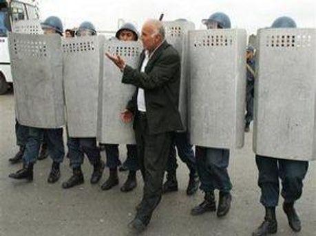 Так поліція запобігала акції протесту
