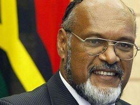 Премьер-министр Вануату Эдвард Натапеи